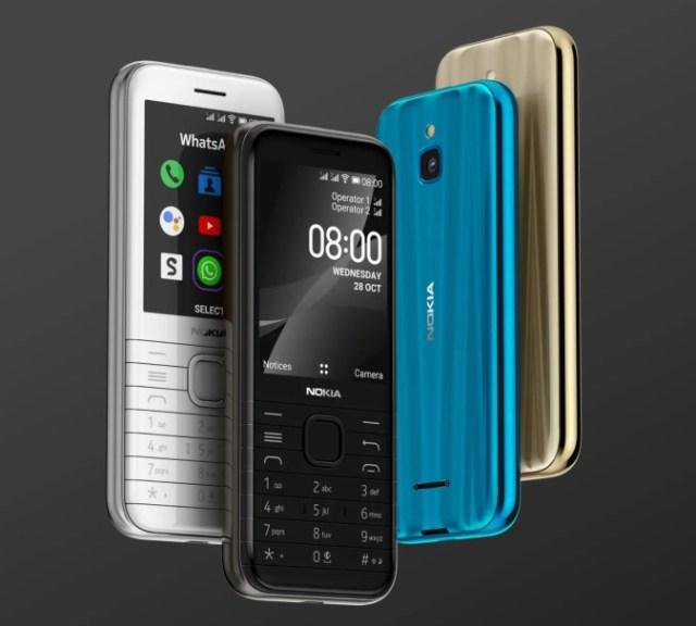 2020 decemberben érkezik a Nokia 6300 4G és a 8000 4G